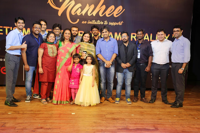 Investment banker Sujaya Moghepadhye of Jaya Foundation organizes Nanhee to support kids fighting cancer