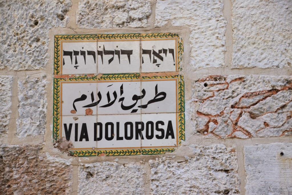 Via Dolorosa a Jerusalem