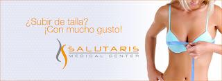 paquete de aumento de busto con implantes en Salutaris Guadalajara Mexico