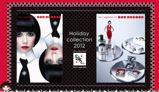 Shu Uemura Karl Lagerfeld Holiday Collection 2012 Prestigious Bordeaux Palette
