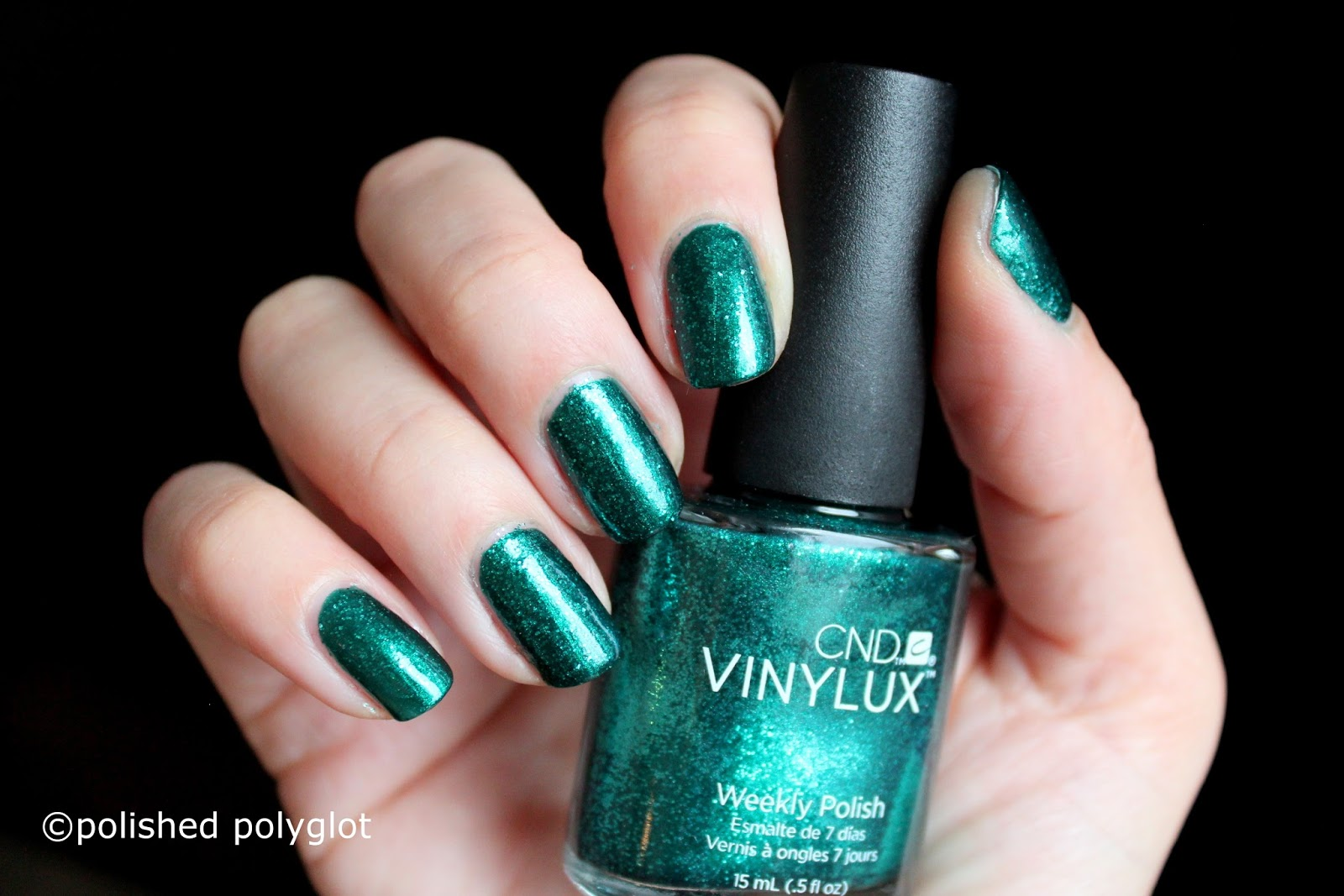 Nail polish │ Rose gold and Emerald Green for the Holidays with CND ...