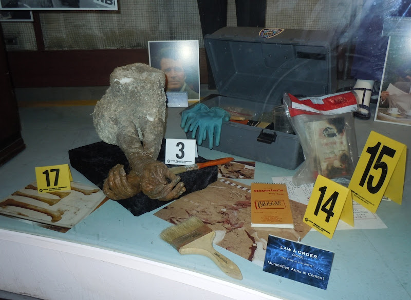 Law & Order mummified remains TV props