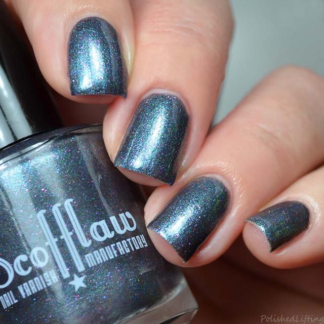 gunmetal nail polish