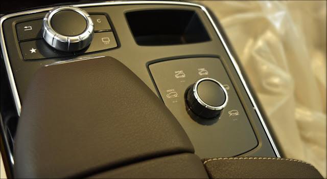 Hệ thống Dynamic Select trên Mercedes GLE 400 4MATIC 2019