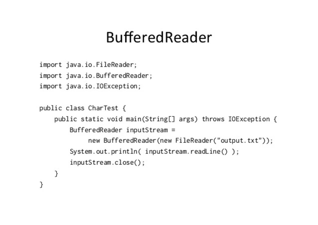 Java IO: File