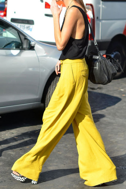 Look du jour! Inspiration... Yellow