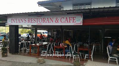Makan best di Kundasang