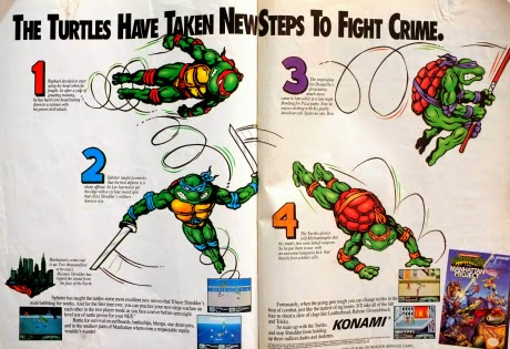 Teenage Mutant Ninja Turtles III. The Manhattan Project for NES advertisement