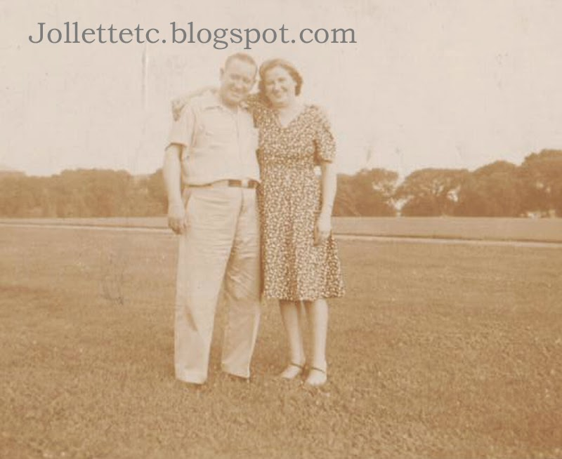 Fred and Julia Walsh Slade 1940  http://jollettetc.blogspot.com
