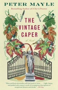 book cover of The Vintage Caper. Image used with permission from bn.com