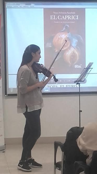 Violinista - Maria Garcia