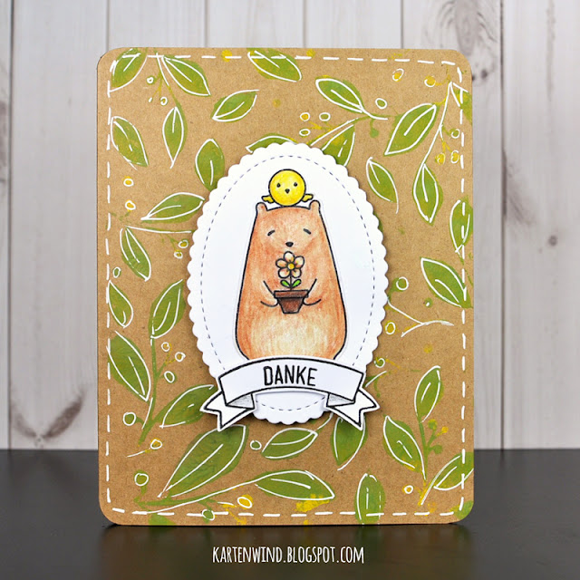 http://kartenwind.blogspot.com/2017/02/bear-bird-danke-waffle-flower.html