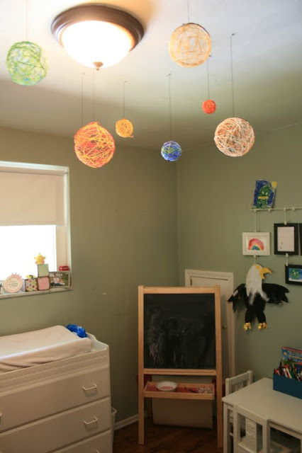 Art For Little Hands Embroidery Solar System