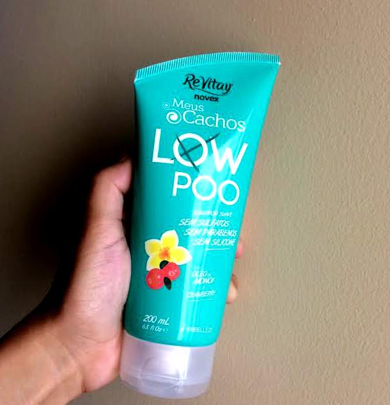 shampoo novex meus cachos low poo