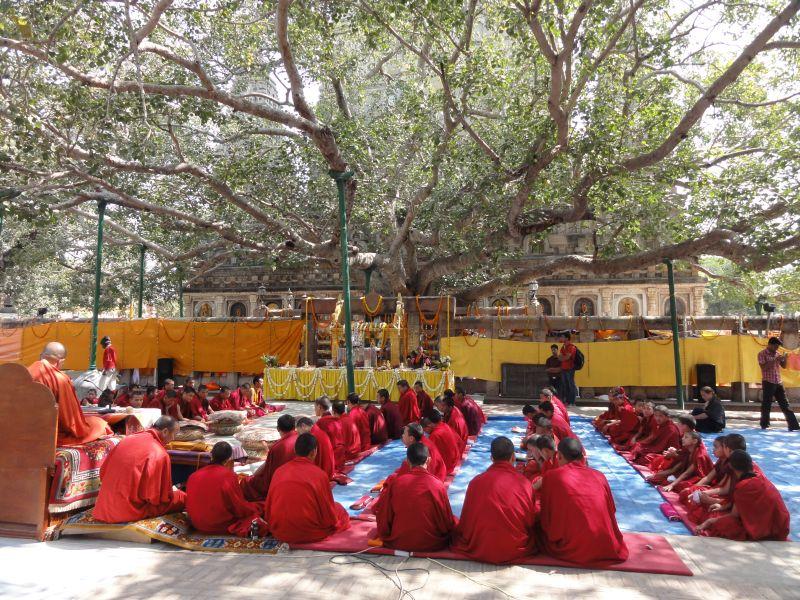 Rencontre bouddhiste