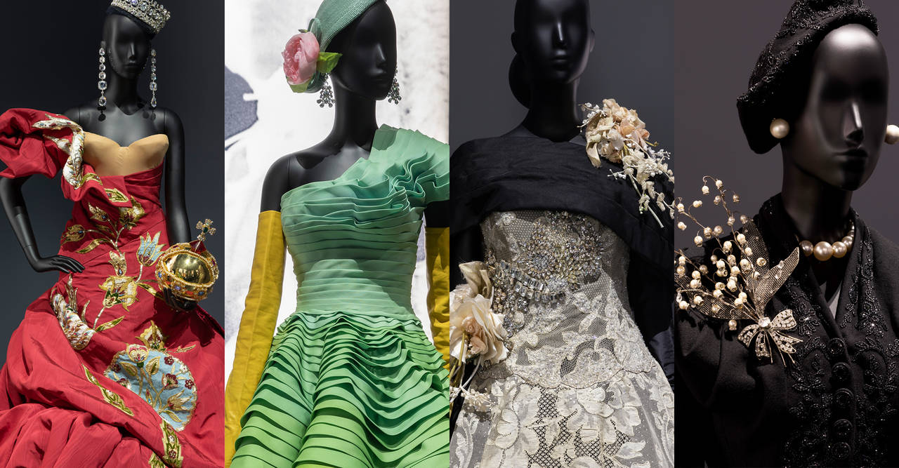 Christian Dior Designer Of Dreams Exhibition A Very