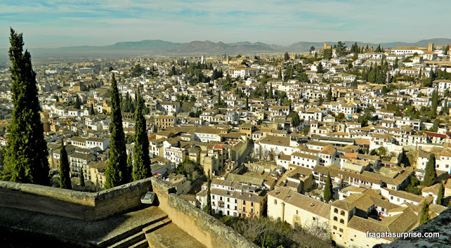 Granada vista da Alhambra