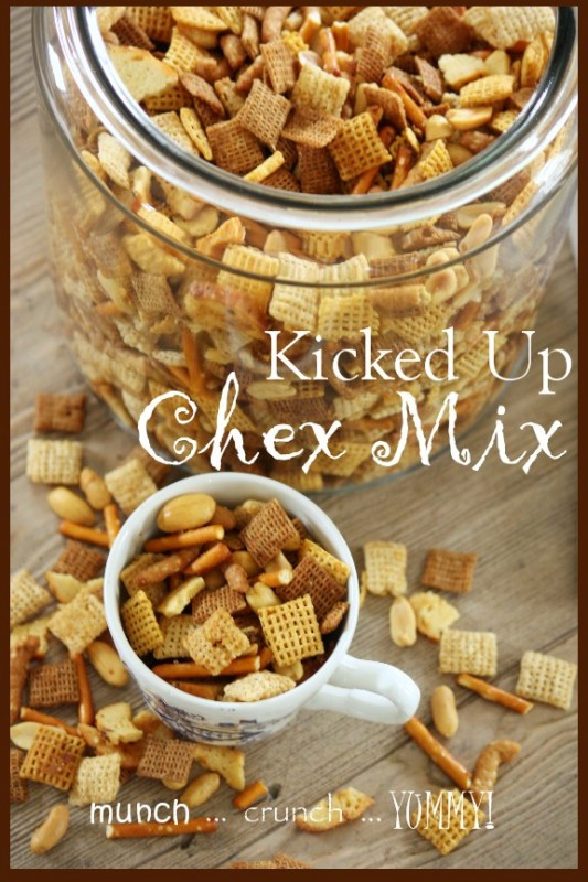 Kicked Up Chex Mix Stonegable