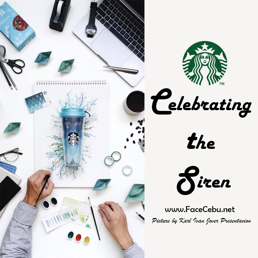 How About Starbucks Celestial Siren Themed Anniversary Collection ...