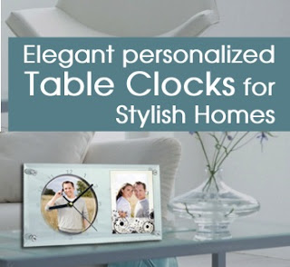 Printland Offer: Get 50% Discount on Personalized Trendy Table Clocks With Photo Frame
