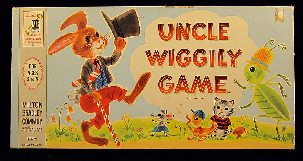 uncle wiggily board game instructions