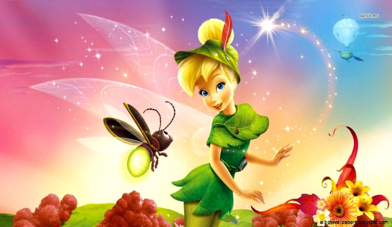 High Resolution Disney Wallpaper: Tinkerbell 3D Animated Wallpaper