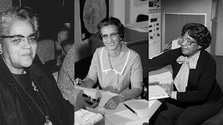 Dorothy Vaughan, Katherine Johnson e Mary Jackson