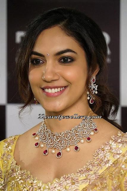 Ritu Varma Diamond Choker