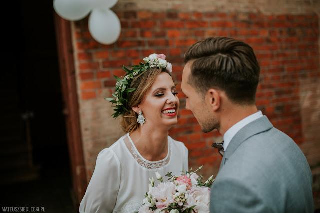 Romantyczne, luksusowe kolczyki ślubne z cyrkoniami, kolekja PRESTIGE