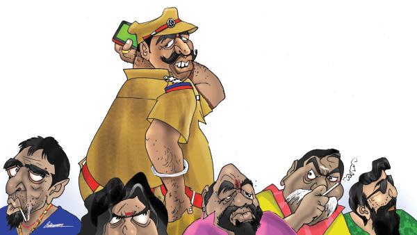 ரவுடிகளுக்கு ரூட் போட்டுக் கொடுத்து, கோடிக்கணக்கில் சுருட்டும் இன்ஸ்பெக்டர்