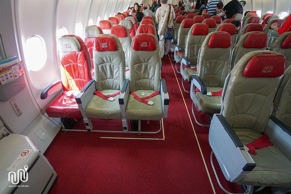 รีวิวนั่ง airasia กลับไทยไฟลท์ XJ621 จากสนามบิน New Chitose Sapporo