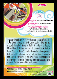 My Little Pony Discord Series 5 Trading Card