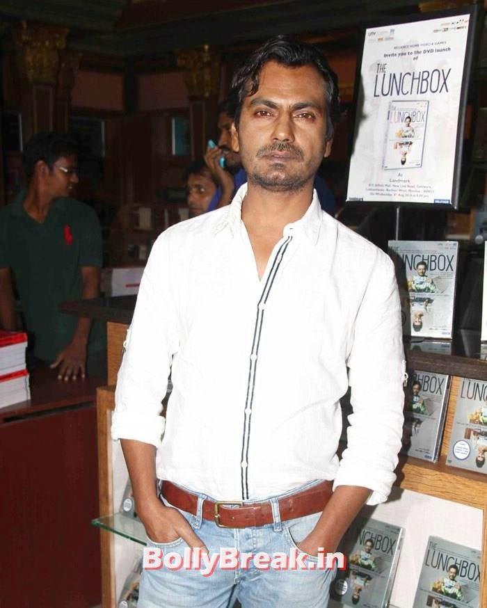 Nawazuddin Siddiqui, Nimrat Kaur Hot Images from 'The Lunchbox'  Movie DVD Launch