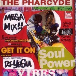 The Pharcyde mega mix!  / DJ-Y∀SU のジャケット写真です。