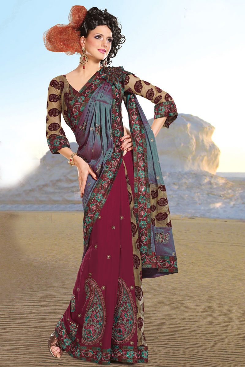 Latest Fashion Trend In Saree: Latest Fashion Trends 2011 In India