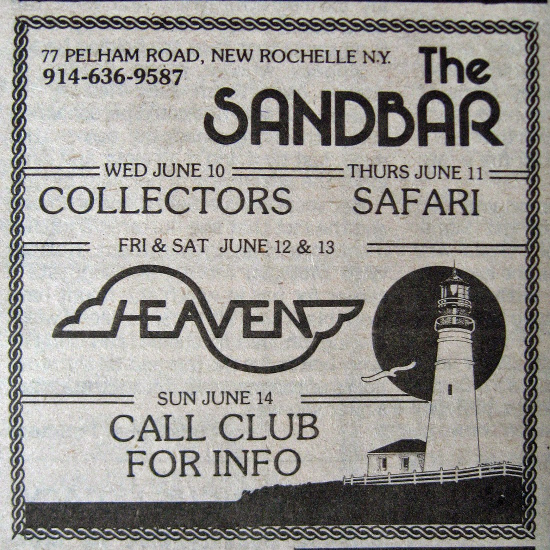 The Sandbar band line up 1981