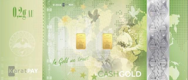 Seguridad CashGold Karatbars