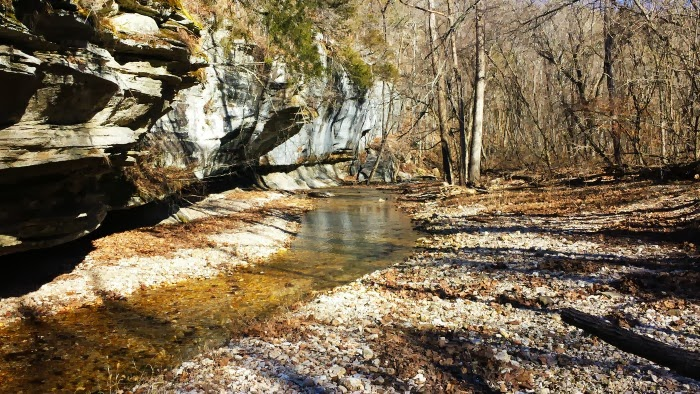 West Fork Creek on the Tea Kettle Falls Trail