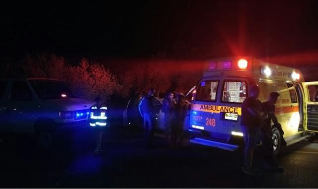 Escena del ataque Terrorista en Israel