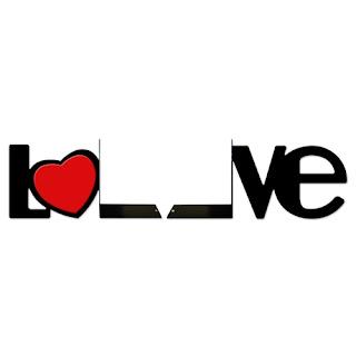 Aparador de Livro - Love
