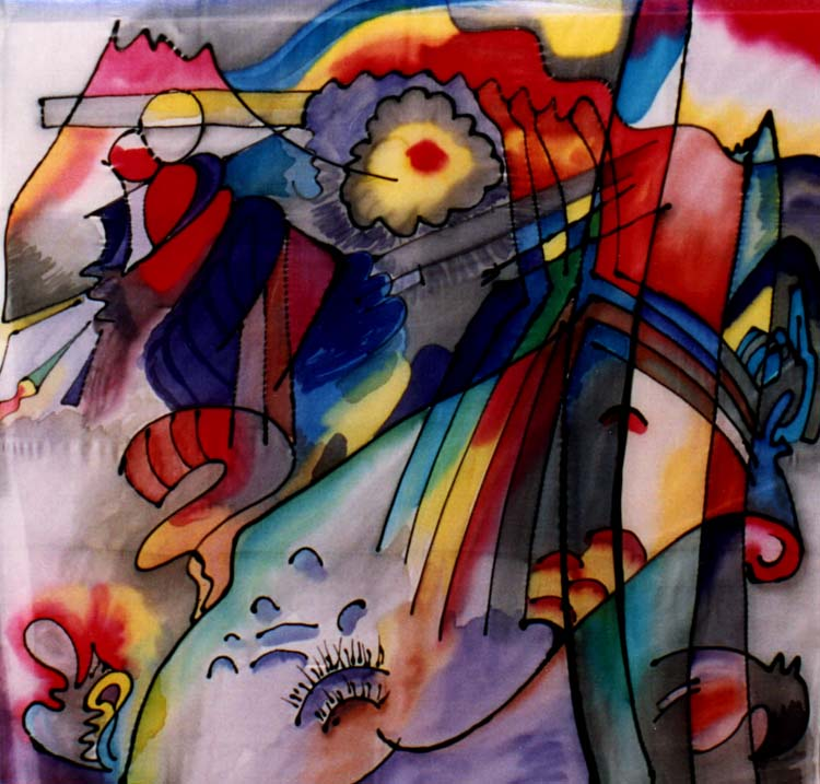 what type of artist was wassily kandinsky