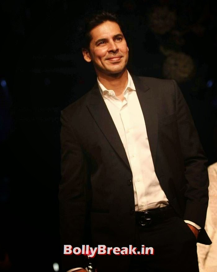 Dino Morea, Pics of Manish Malhotra Show at Lakme Fashion Week 2014