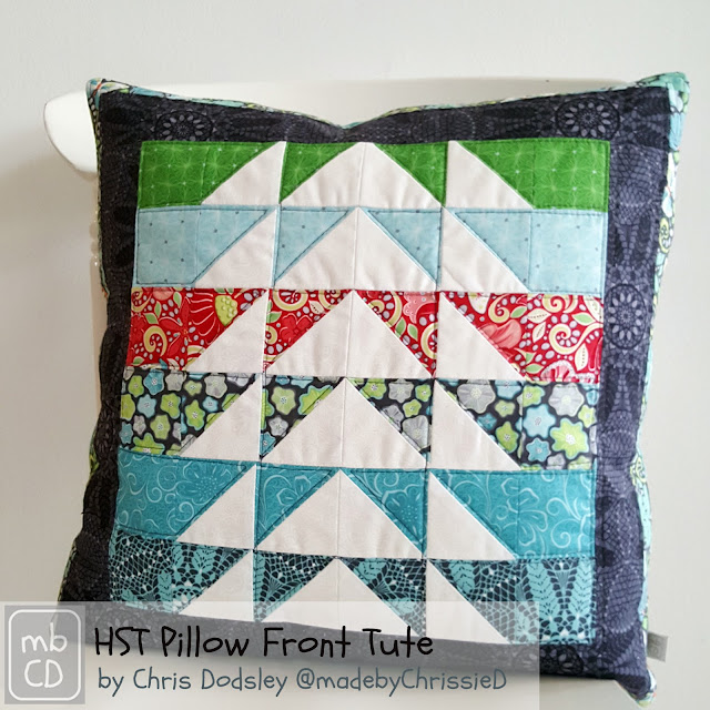 Meadow Dance Cushion and Table Runner Tutes by www.madebyChrissieD.com