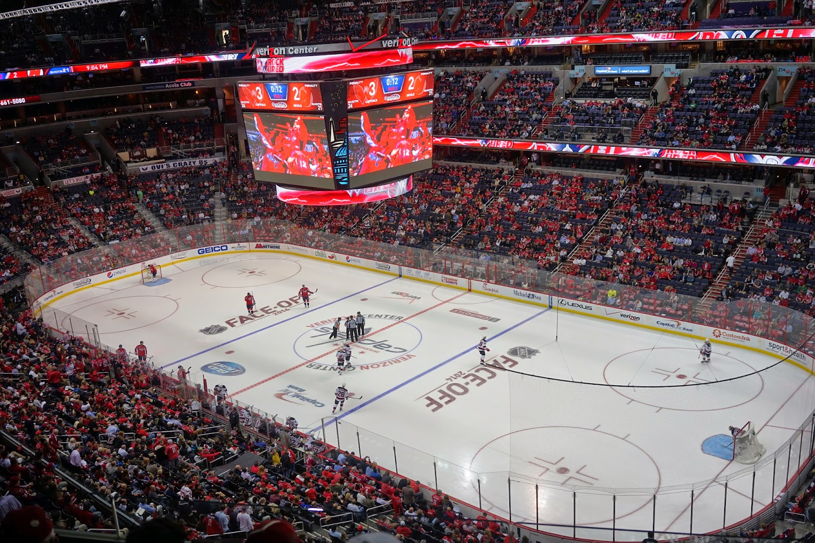 washington d.c capitals hockey