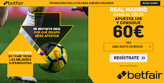 betfair supercuota Real Madrid gana al Celta 16 marzo 2019