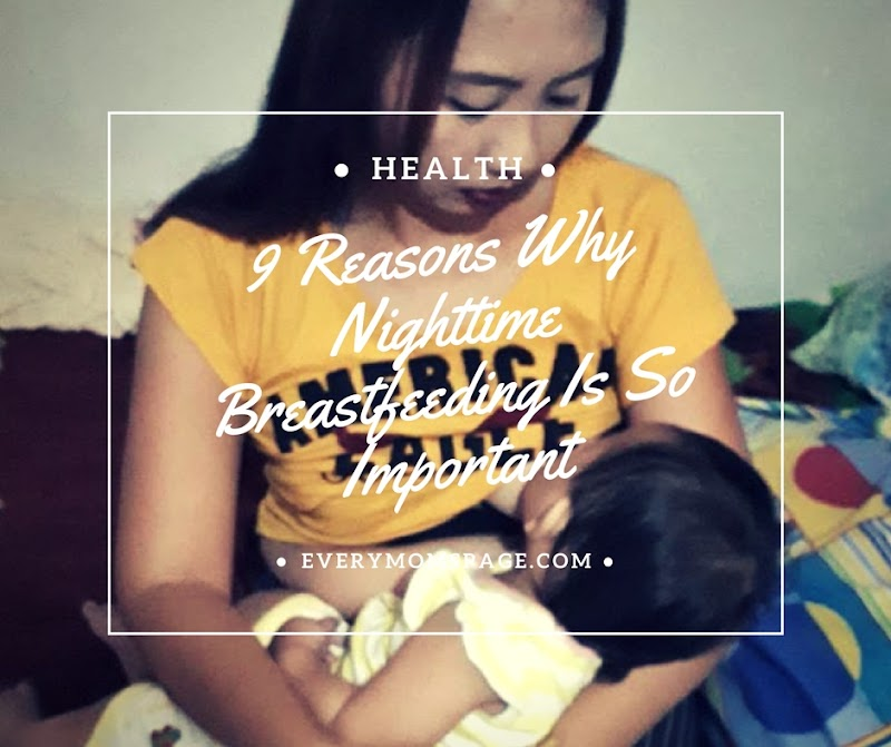 9 Reasons Why Nighttime Breastfeeding Is So Important