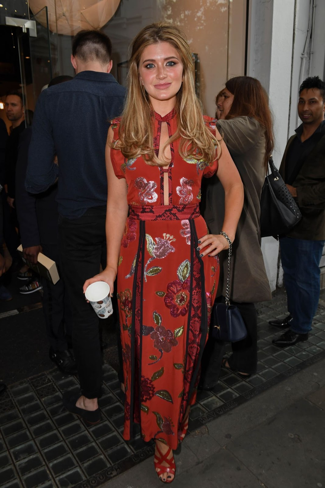 Lauren Hutton at Joel Swimwear X Collier Bristow Press Launch in London
