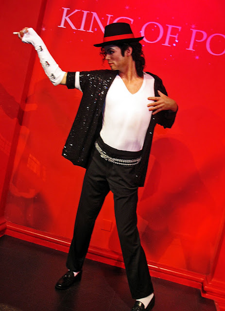 MJ wax figure