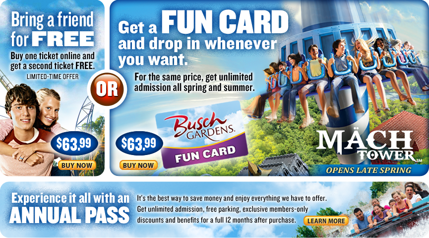 It 39 s hip to clip coupons it 39 s like getting a ticket for - Busch gardens annual pass promo code ...