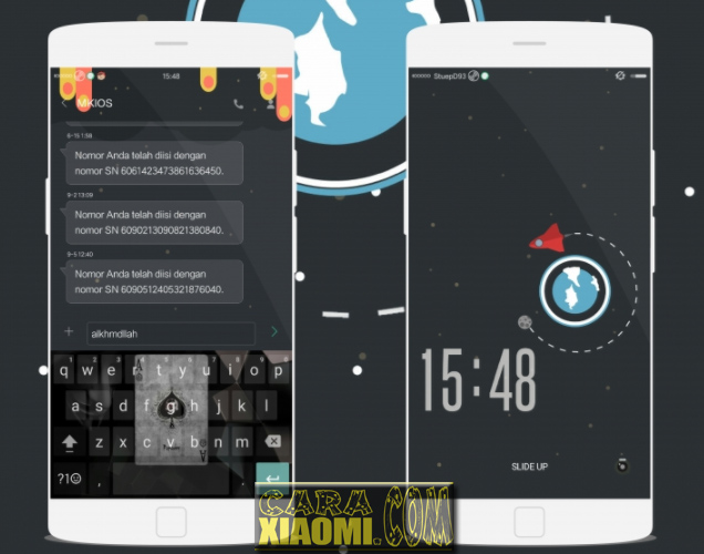 Download Link Tema Untuk Xiaomi MIUI Buleq Caraphernalia Terbaru